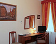 Rooms of the hotel are decorated with M.Edomsky's painting