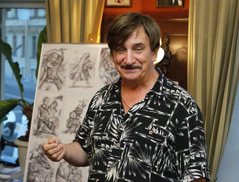 Виктор Тихомиров в Старой Вене
